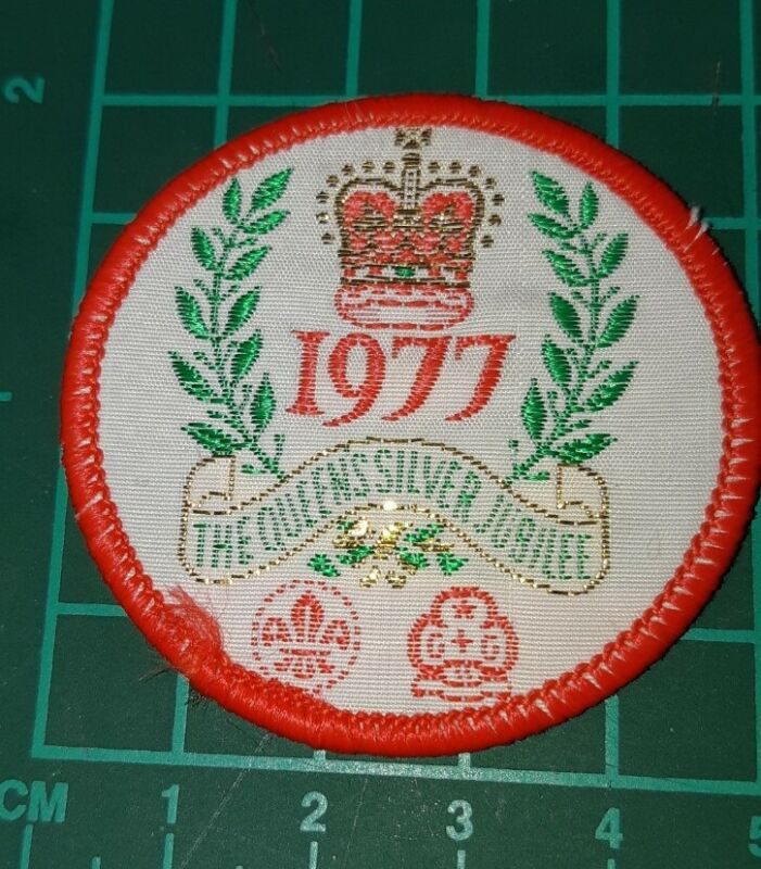 1977 The Queens Silver Jubilee Scout and Girl Guides Badge