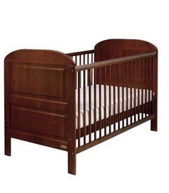East Coast Angelina Cot Bed (Walnut)