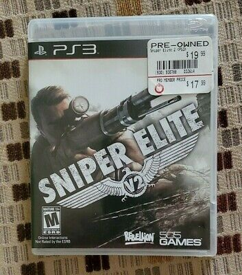 SNIPER ELITE V2 Playstation 3 PS3 USED Complete FREE SHIPPING COOL GAME segunda mano  Embacar hacia Mexico