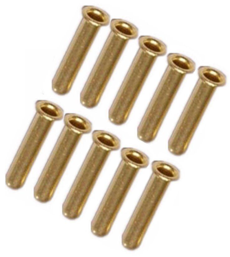 "10/PKG Compression Tube Insert Sleeve Tubing OD 4 mm 5/32"" & ID 2.5"" 3/32"" @P1"