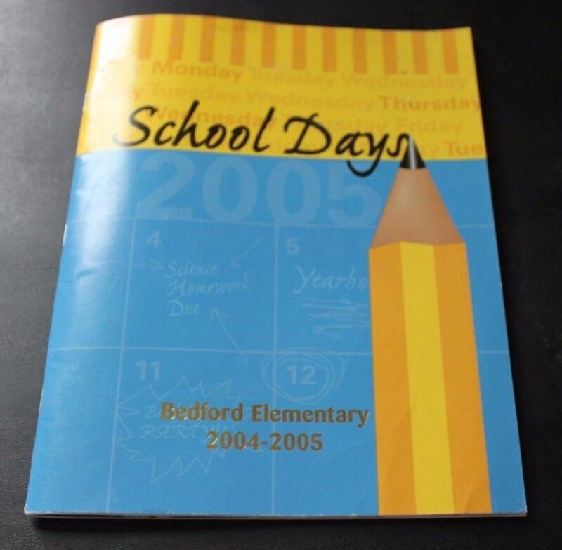 Bedford PA Pennsylvania Elementary School Yearbook Year book 2005