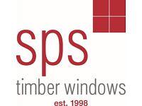 Bench joiner up to £32K + OTE full time PAYE SPS timber windows London immediate start