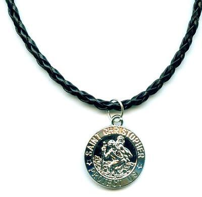 Christopherus Halskette Necklace Saint Christopher Anhänger Schmuck M