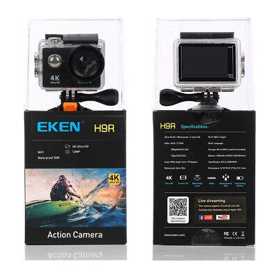 Best Go Pro Hero 5 Alternative EKEN WiFi Sports Action Camera 4K Ultra HD