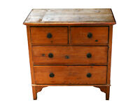 Pine Chest of Drawers - Charming Late 1950's - Refurbishment Project