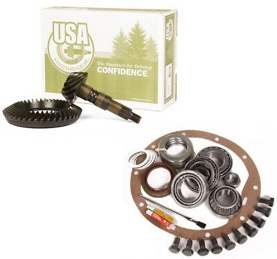 "1993-2007 F250 F350 Ford 10.25"" 3.55 Ring and Pinion Master Install USA Gear Pkg"