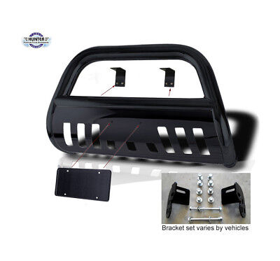 96-98 Toyota 4Runner / 98-04 Tacoma Classic Bull Bar Black   Push Bar Bumper for sale  Houston