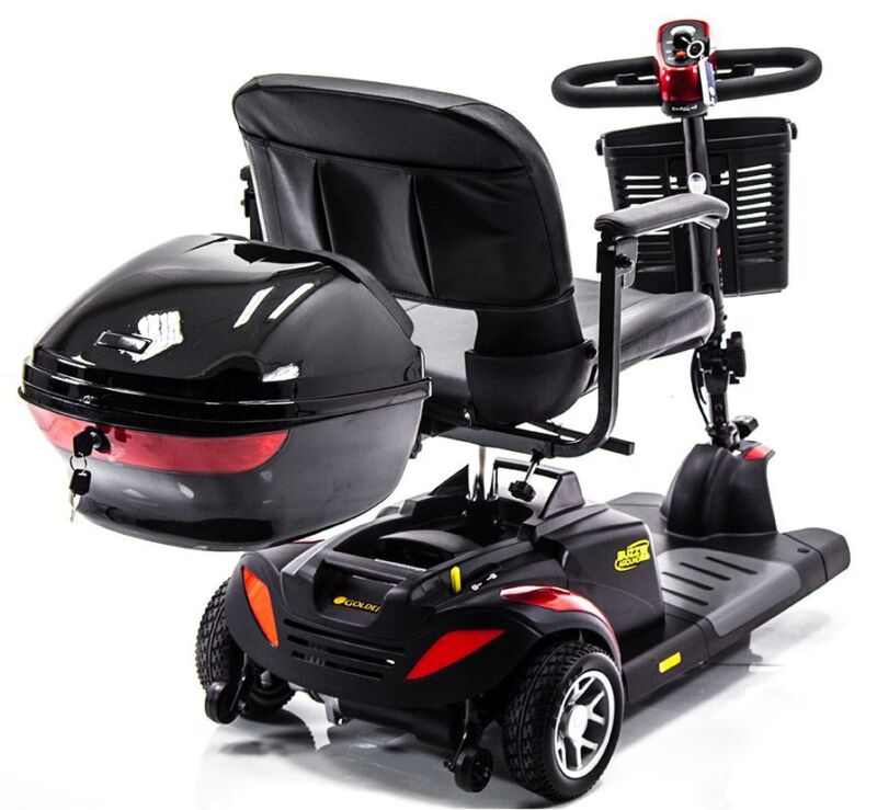 Locking Storage Compartment Box For Pride, Challenger, Drive, Golden Scooter New