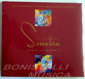 FRANK-SINATRA-DUETS-and-DUETS-II-90th-BIRTHDAY-2-CD-Limited-Ed-Sealed