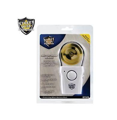 Best Streetwise New Wireless Door Knob Alarm Anti Theft Alert Security
