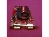 256MB PCI-E HP 441850-001 442227-001 ATI FireGL V3350 Dual DVI Graphics Card