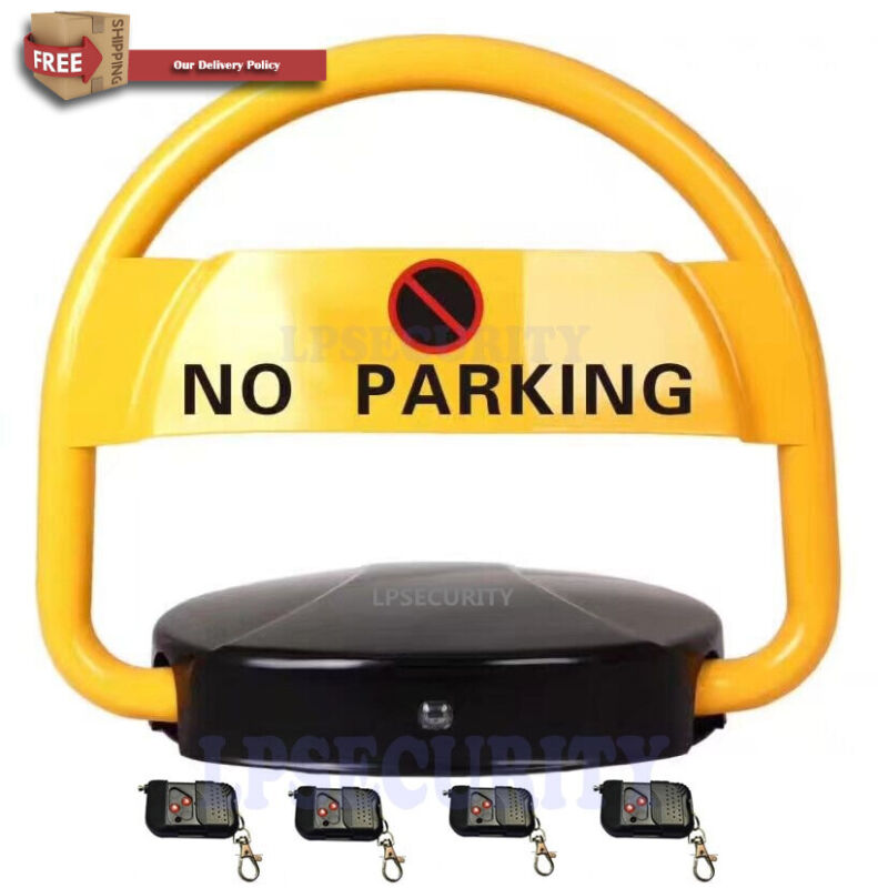 PARKING BARRIER lock CAR BOLLARD VEHICLE DRIVEWAY SAFETY SECURITY space reserved