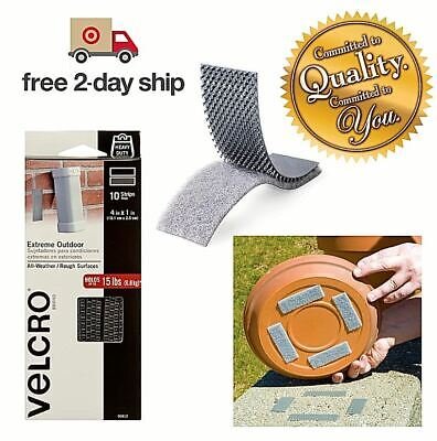10 Strips Velcro Brand Industrial Grade Heavy Duty Strength Outdoor Indoor