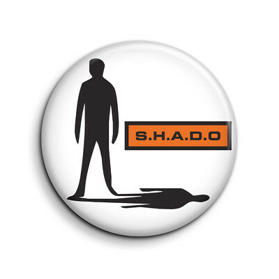 UFO, SHADO, GERRY ANDERSON 25mm Button Badge. FREE POST
