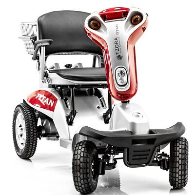 Hummer XL4 Titan All Terrains Folding 4-Wheel Electric Mobility Scooter by Tzora
