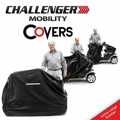 MOBILITY COVER Vinyl Heavy Duty, Scooter & Power Wheelchair, All Sizes- Best
