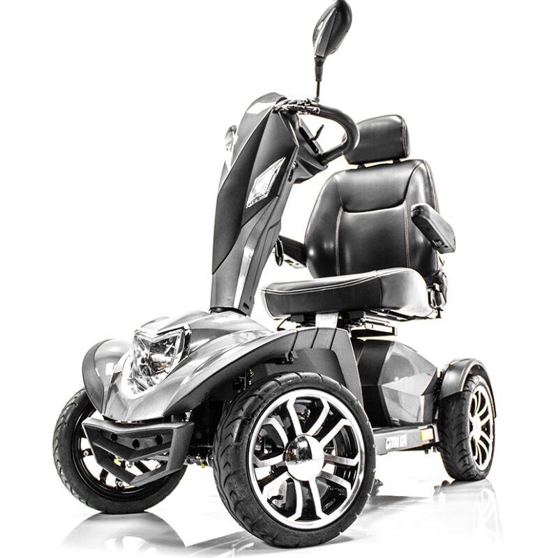 """Cobra Gt4 Heavy Duty 20"""" Power Electric Mobility Scooter 4-wheel + Rear Basket"""