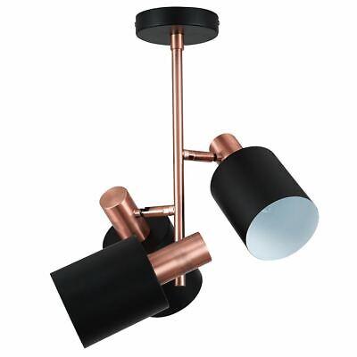 Black & Antique Copper 3 Light Electrified Pendant Pacific 3 Light Pendant