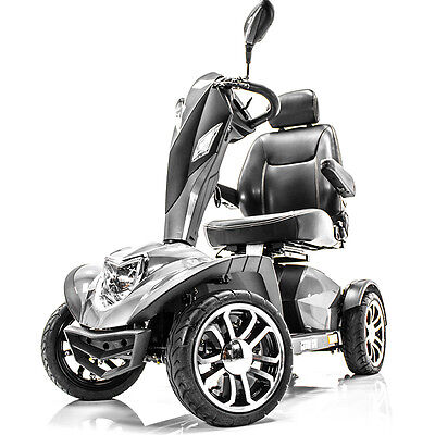 "COBRA GT4 Heavy Duty Power Electric Mobility Scooter 22"" seat + FREE TRAILER"