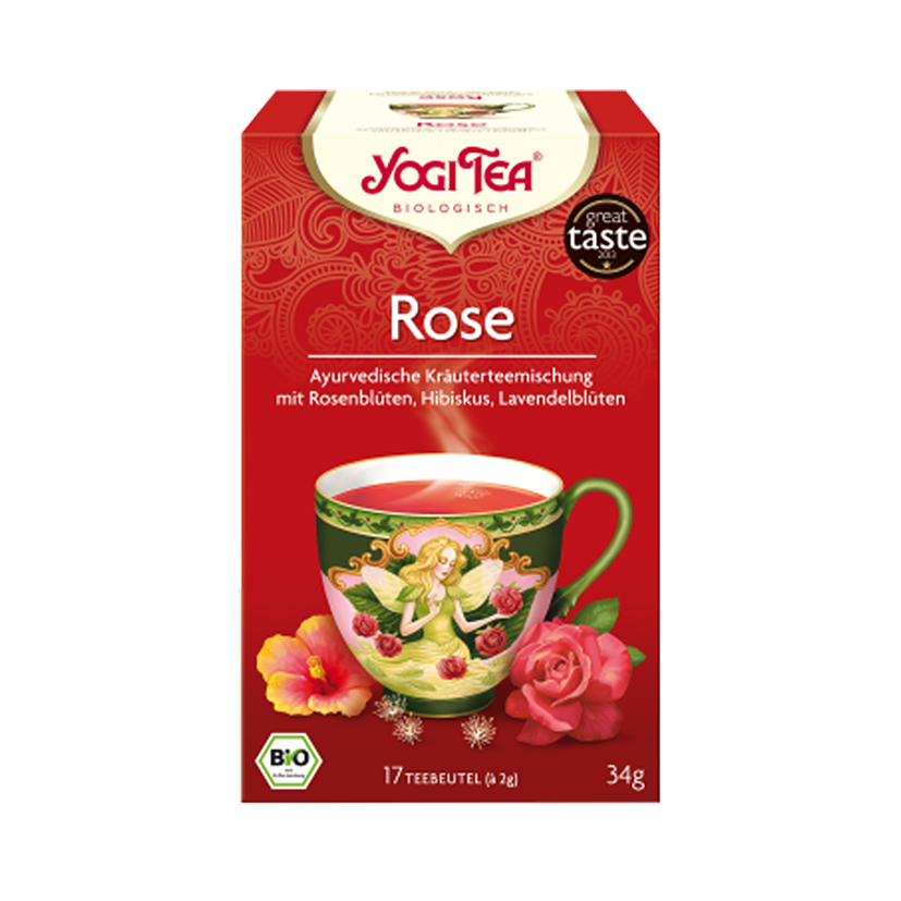 YogiTea Bio Rose, 1er Pack