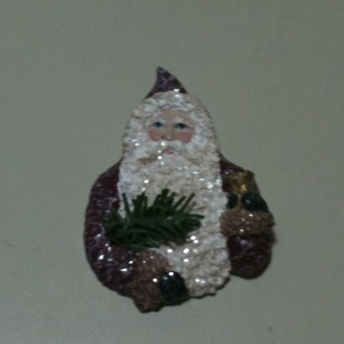 Linda Lindquist Baldwin 1999 From a Nickle to a Belsnickle Santa Pin/Pendant