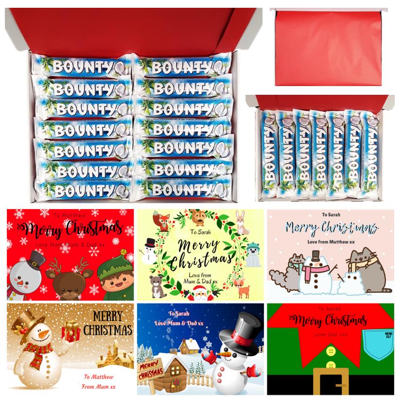 A Bounty Chocolate Christmas Gift Box 🎅
