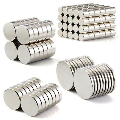 Neodym Magnete super stark Scheiben Würfel N35 N45 N50 doppelt