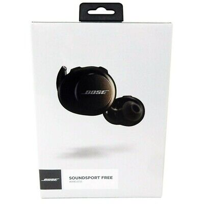 Bose SoundSport Free Wireless Earbuds Headphones. Brand new from factory.