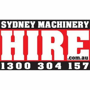 EXCAVATOR HIRE 5.5 TONNE ZERO SWING EXCAVATOR DRY HIRE Belmore Canterbury Area Preview