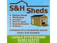 S&H sheds