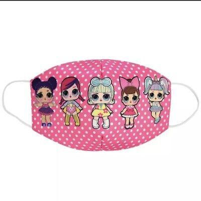 LOL Surprise Masken Mundschutz Kinder Mädchen