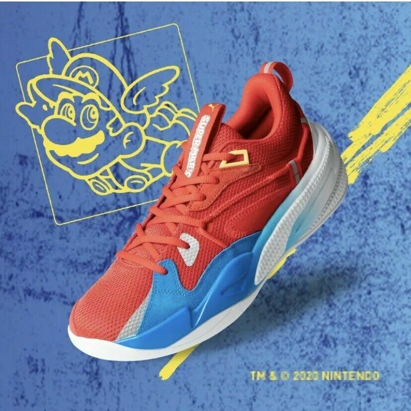 Puma RS-Dreamer Super Mario 64 Nintendo Basketball Shoes Size 9  Ready to ship