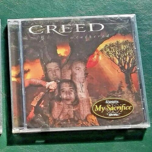 New/unopened 2001 Creed, Weathered CD
