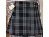 Kilt - Brand New - Granite Grey Tartan
