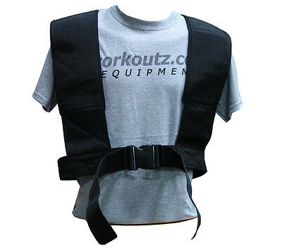 WORKOUTZ SPEED HARNESS (ELITE) FOR POWER PULLING SLED WEIGHT FOOTBALL