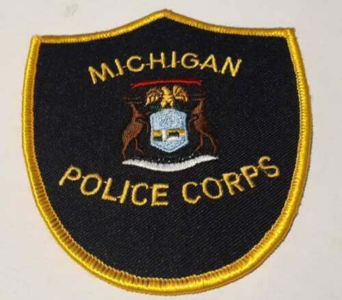 State Police Corps Michigan MI US Police Patch Vintage