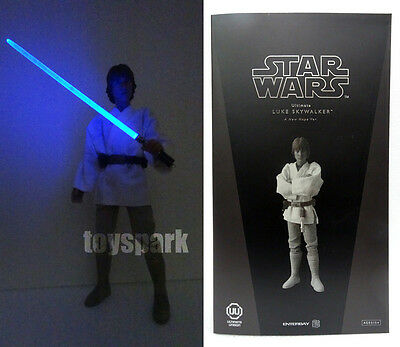 AH STAR WARS LUKE SKYWALKER 1/6 action figure with LED SABER (Led-saber)