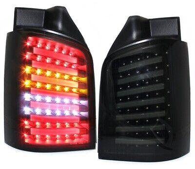 FK-Automotive LED Rückleuchten Set VW Bus T5 Bj 03-10 rot//schwarz NEU /& OVP