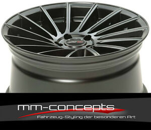 20 Zoll Motec Tornado Alufelgen 9x20 et45 5x112 Concave für Mercedes Audi AMG RS