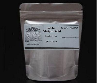 25g Indole-3-butyric acid (IBA)  98% Auxin Plant Hormone Plant Growth PGR