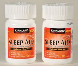 Kirkland sleep aid doxylamine succinate 25mg tablets sleeping pills