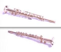 Miniatura In Metallo Dorato - Sassofono Soprano - Strumento Musicale - Cm.15,5 - soprano - ebay.it