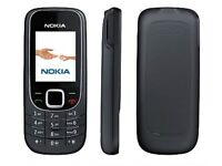 WHAT A BARGAIN = UNLOCKED BLACK NOKIA 2323 MOBILE PHONE IN VERY GOOD CONDITION + CHARGER