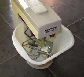 Original Kenwood Chef Excel food mixer