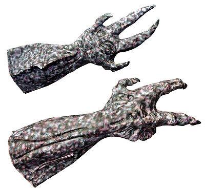 Alien Hands Costume (HALLOWEEN ADULT MONSTER ALIEN HANDS  GLOVES MASK PROP)