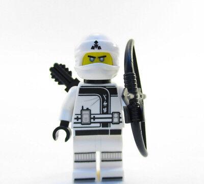 Authentic New LEGO Ninjago Zane 70606 - MiniFig | Spinjitzu Training w/ Weapons!