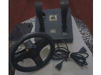 PC Game Racing Wheel (Game Port)