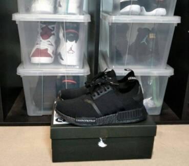 Adidas NMD R1 Triple Black Japan PK US8.5 + Receipt New Yeezy