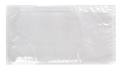 6000 Stück LIEFERSCHEINTASCHEN DIN LANG transparent ohne Druck # L11