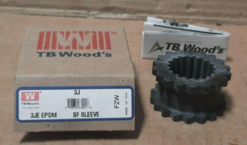 TB WOODS  #3JE EPDM  SURE-FLEX COUPLING SLEEVE  F132